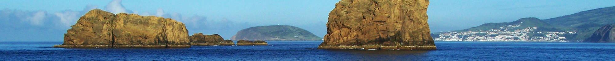 Felseninseln auf den Azoren