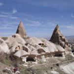 Höhlenwohnungen im Taurusgebirge, Fotograph: A. Römer