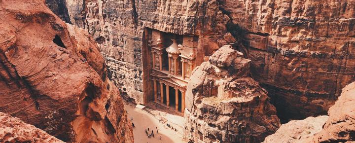 Jordantal, Petra und Wadi Rum