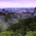 Sonnenaufgang über Tikal