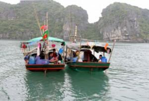 Reisebericht Vietnam: Dschunken in der Halongbucht