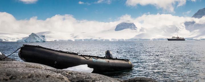 Aktivreise Antarktis Basecamp