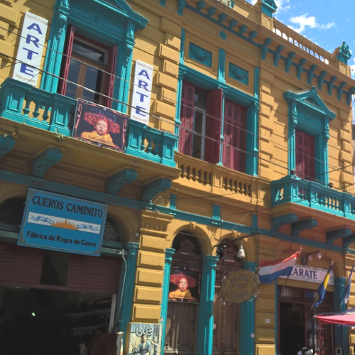 Fassade La Boca