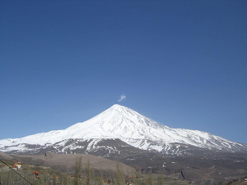 Blick auf den Mount Damavand