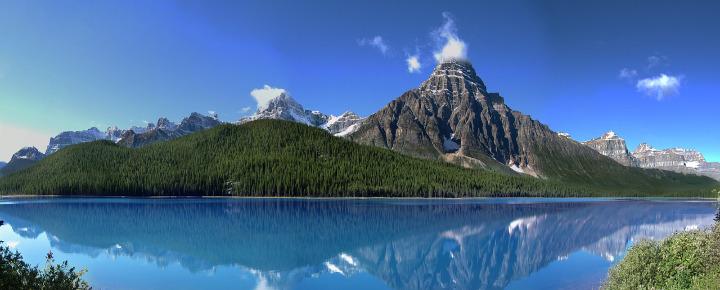 Wandern durch die Rockies