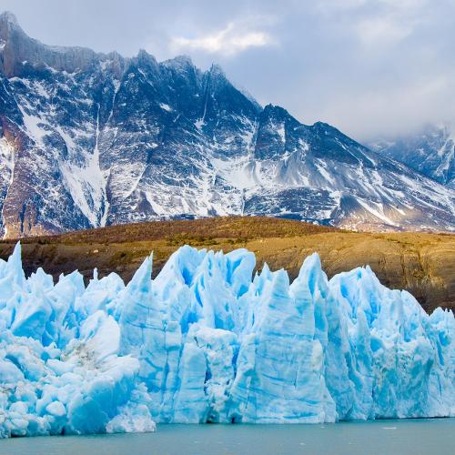 Grey-Gletscher im Torres del Paine Nationalpark