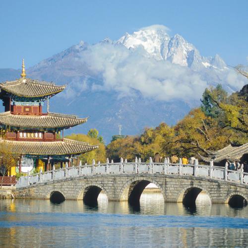 Brücke in Yunnan