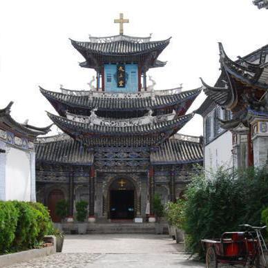 Kirche in Dali