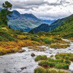 Wildbach Berge