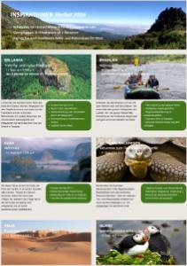Reise-Inspirationen Herbst 2016 - Oman, Kuba, Kapverden, Brasilien, Tansania u.a.