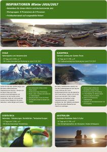 Reise-Inspirationen Winter 2016/2017 - Oman, Kuba, Kapverden, Brasilien, Tansania u.a.