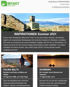 Inspirationen Sommer 2021