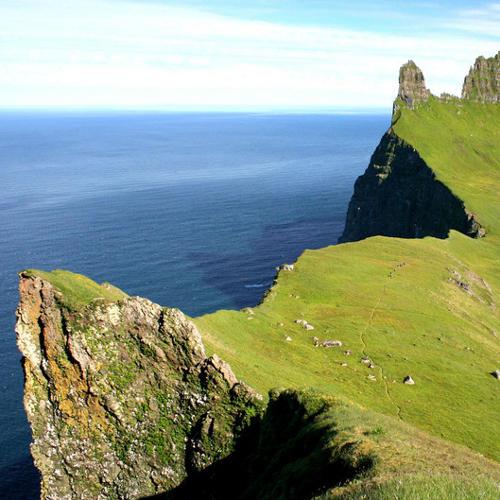Westfjorde Steilküste