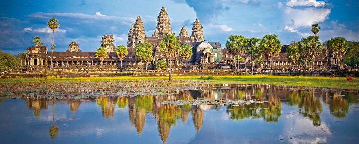 Angkor Wat, Mekong und Tonle Sap