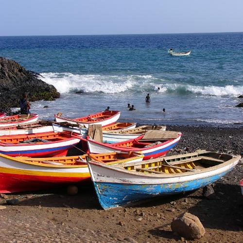 Santiago: Bunte Boote