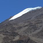 Kilimandscharo: Gletscher am Kibo