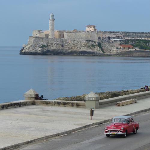 Havanna Malecon Festung