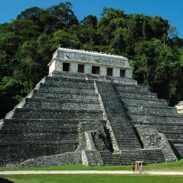 Pyramide in Palenque