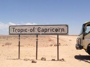 Namibia - Topic of Capricorn