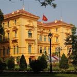 Gouverneurspalast in Hanoi