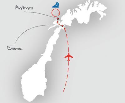 Island: Karte und Tourenverlauf Pottwal-Tour