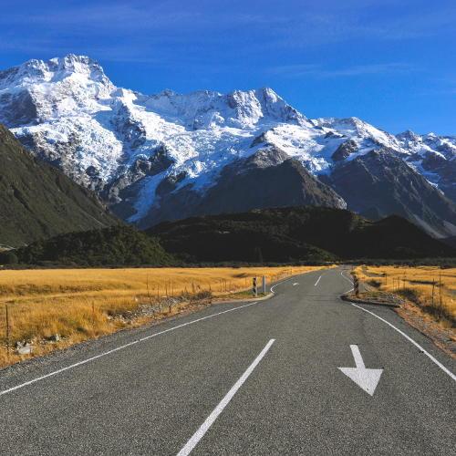 Neuseeland Bergkette