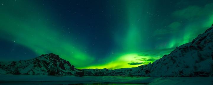 Walbeobachtung und Nordlichter