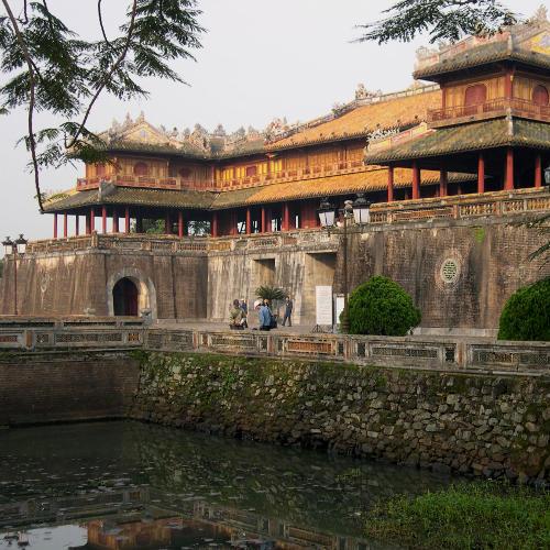Tempel in Hués Altstadt