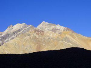 Argentinien, Mendoza - Blick auf den Aconcagua
