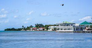 Belize - Hafen von Belize City