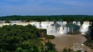 Iguaçu-Wasserfälle in Brasilien