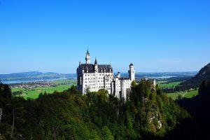 Deutschland - Blick aufs Schloß Neuschwanstein