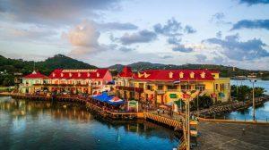 Honduras - Hafen von Roatan
