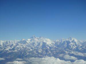 Nepal - Blick aufs Himalaya-Massiv