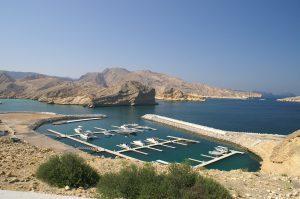 Oman - Bucht im Golf von Oman