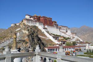 Tibet - Lhasa, Potala-Palast