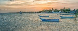 Venezuela - Bucht und Hafen im Morgenlicht