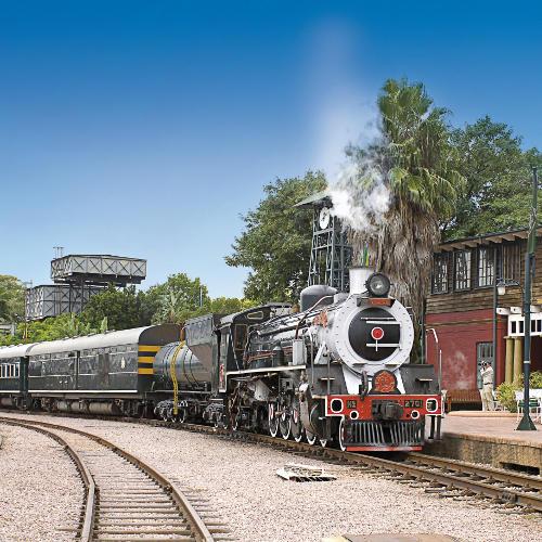 Rovos Rail Bahnhof in Pretoria
