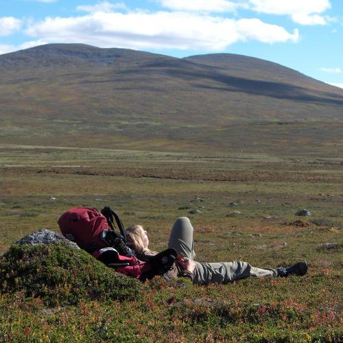 Trekking-Pause