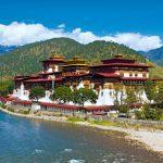 Kloster bei Punakha