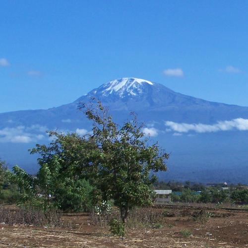 Gipfel des Kibo