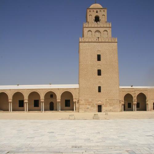 die Große Moschee in Kairouan