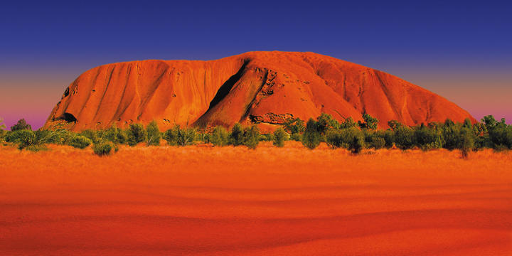 Ayers Rock, Great Barrier Reef, Sydney und Cairns