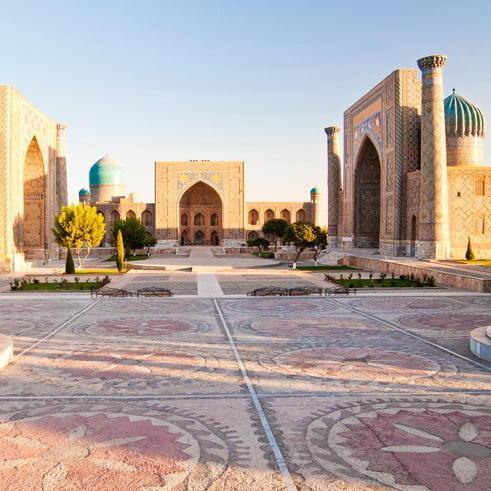 Samarkand Registanplatz