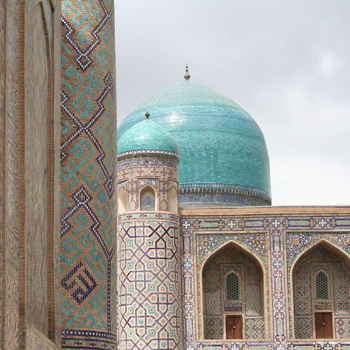 Usbekistan, Moschee in Samarkand