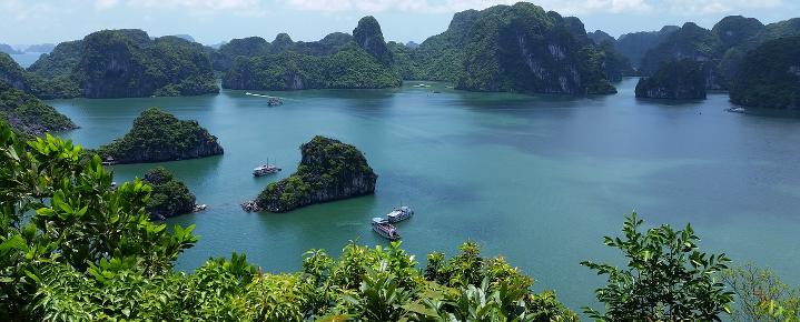 Rad-Kultur-Rundreise Mekong-Delta bis Halong Bucht